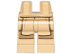 Part No: 970c00pb1048  Name: Hips and Legs with SW Jedi Robe and Dark Tan Leggings Pattern