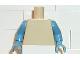 Part No: 973c17  Name: Torso Plain / Medium Blue Arms / Medium Blue Hands