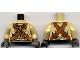 Part No: 973pb0002c01  Name: Torso SW Tusken Raider Pattern / Tan Arms / Dark Gray Hands