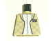 Part No: 973pb0344  Name: Torso SW Checkered Jacket with White Undershirt Pattern (Leia)