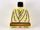 Part No: 973px58  Name: Torso SW Layered Shirt, Brown Belt Pattern