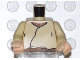 Part No: 973px82bc01  Name: Torso SW Closed Shirt, Brown Belt, Light Flesh Neck Pattern / Tan Arms / Light Flesh Hands