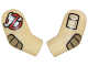 Part No: 981982pb067  Name: Arm, (Matching Left and Right) Pair with Ghostbusters Pattern