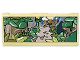 Part No: dupstr01  Name: Storybuilder Meet the Dinosaur Memory Card with Jungle and Road Pattern