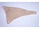Part No: sailbb29  Name: Cloth Sail Triangular 11 x 15