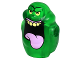 Part No: 21968pb01  Name: Body Ghost, Slimer with Bright Pink Tongue, Bright Light Yellow Eyes and Top Teeth Pattern