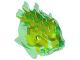 Part No: 57553pb01  Name: Bionicle Head, Barraki Ehlek, Marbled Lime Pattern