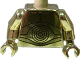 Part No: 973px160c03  Name: Torso SW C-3PO Pattern / Chrome Gold Arms / Chrome Gold Hands