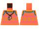 Part No: 973pb4232  Name: Torso Tank Top Whistle Necklace Pattern