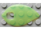 Part No: clikits032  Name: Clikits, Icon Accent Plastic Leaf 4 1/2 x 2 5/8