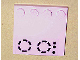 Part No: 6179pb008  Name: Tile, Modified 4 x 4 with Studs on Edge with Stove Plate Pattern (Sticker) - Set 5890