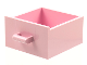 Part No: 6198  Name: Container, Cupboard 4 x 4 x 4 Drawer, Open Handle