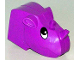 Part No: 44218  Name: Duplo Figure Head Animal 2 x 2 Base Rhino