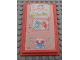 Part No: 6953pb08  Name: Scala Wall, Panel 6 x 10 with Bulletin Board and Crayon Drawings Pattern (Stickers) - Set 3241