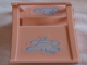 Part No: 33005pb03  Name: Scala Chair - Baby Highchair with Elephant Pattern (Stickers) - Set 3290
