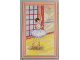 Part No: 6953pb010  Name: Scala Wall, Panel 6 x 10 with Ballerina Pattern (Sticker) - Set 3270