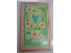 Part No: 6953pb03  Name: Scala Wall, Panel 6 x 10 with Heart and Flowers Pattern (Sticker)