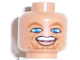 Part No: 3626bpb0138  Name: Minifigure, Head NBA Dirk Nowitzki Pattern - Blocked Open Stud