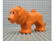 Part No: lion02c01pb01  Name: Duplo, Animal Lion Adult Male with Movable Head
