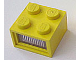 Part No: 08010dc01  Name: Electric, Light Brick 4.5V 2 x 2 with 3 Plug Holes, Trans-Clear Diffuser Lens