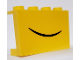 Part No: 14718pb030  Name: Panel 1 x 4 x 2 with Side Supports - Hollow Studs with Closed Smile Pattern