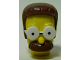 Part No: 15529c01pb01  Name: Minifigure, Head Modified Simpsons Ned Flanders