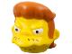 Part No: 15666pb01  Name: Minifigure, Head Modified Simpsons Snake