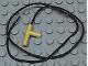 Part No: 194cx2  Name: Minifigure, Utensil Hose Nozzle Simple with 35L Black String