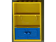 Part No: 2042c01  Name: Fabuland Cupboard 2 x 6 x 7 with Blue Doors