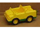 Part No: 2218c03  Name: Duplo Car with 2 x 2 Studs and Green Base