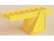 Part No: 2223c01  Name: Duplo Ladder Stand 2 x 2 with Yellow Duplo Ladder 8 Rung (2223 / 2224)