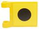 Part No: 2335pb025  Name: Flag 2 x 2 Square with SpongeBob Black Dot Pattern (Sticker) - Sets 3825 / 3833