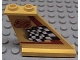 Part No: 2340pb002  Name: Tail 4 x 1 x 3 with Black and White Checkered Flag, Red Line and Number 5 Pattern on Right Side (Sticker) - Set 8225