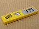 Part No: 2431pb108R  Name: Tile 1 x 4 with 'V8', 'Kyoto Oxide' and Intake Pattern Model Right (Sticker) - Set 8135