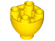 Part No: 24947  Name: Brick, Round 2 x 2 Dome Bottom with Studs