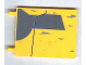 Part No: 2525pb003  Name: Flag 6 x 4 with Gray Jedi Starfighter Pattern on both sides (Stickers) - Set 7669