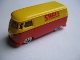 Part No: 258pb15  Name: HO Scale, VW Van with Red Base and Red SHELL Pattern