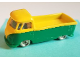Part No: 259pb05  Name: HO Scale, VW Pickup with Green Base