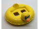 Part No: 28421pb01  Name: Minifigure, Utensil Swim Ring / Floatie Duck Inflatable with Black Batman Mask and Orange Bill Pattern