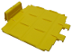 Part No: 2962  Name: Duplo, Train Passenger Locomotive Base Battery Case Lid