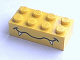 Part No: 3001pb012  Name: Brick 2 x 4 with Wavy Mouth and Fangs Pattern