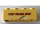 Part No: 3001pb160  Name: Brick 2 x 4 with Lego Ninjago Event Legoland Deutschland 2012 Pattern 1 of 3