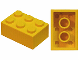 Part No: 3002old  Name: Brick 2 x 3 without Cross Supports