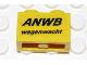 Part No: 3004pb081  Name: Brick 1 x 2 with 'ANWB wegenwacht' Pattern (Sticker) - Set 2140