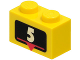 Part No: 3004px2  Name: Brick 1 x 2 with White Number 5 Marker Pattern