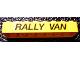 Part No: 3007pb03  Name: Brick 2 x 8 with 'RALLY VAN' Pattern (Sticker) - Set 5550