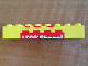 Part No: 3007pb09  Name: Brick 2 x 8 with Top Half of 'LEGO Store!' Pattern