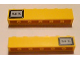 Part No: 3009pb088  Name: Brick 1 x 6 with Black '54T.' Pattern on Both Sides (Stickers) - Set 7898
