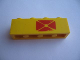 Part No: 3010pb026b  Name: Brick 1 x 4 with Red Envelope Pattern, Right Side