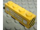 Part No: 3010pb035epb01  Name: Brick 1 x 4 with Car Grille Chrome Pattern (Embossed Print) with Warning Stripes Yellow/Black on both sides (Stickers)